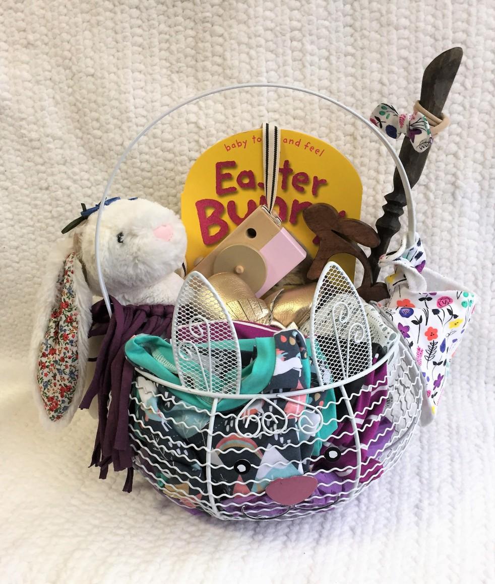 Baby easter basket a little bit of cc babys first easter basket negle Images